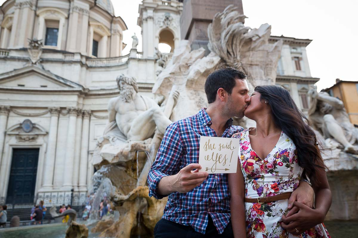 Rome Romance Marriage Proposal Package